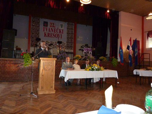 Josip Friščić i Župan na svečanoj sjednici Općinskog vijeća