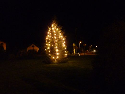 Božićni ugođaj u Koprivničkom Ivancu i doček Djeda Božićnjaka