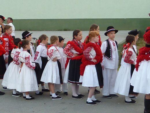 Nastup mladih folkloraša