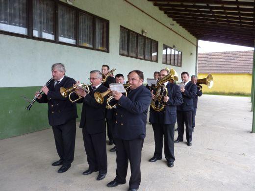 Puhački orkestar u Ravnoj Gori