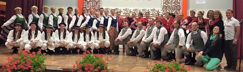 Međunarodna folklorna priredba Latvija u Koprivničkom Ivancu