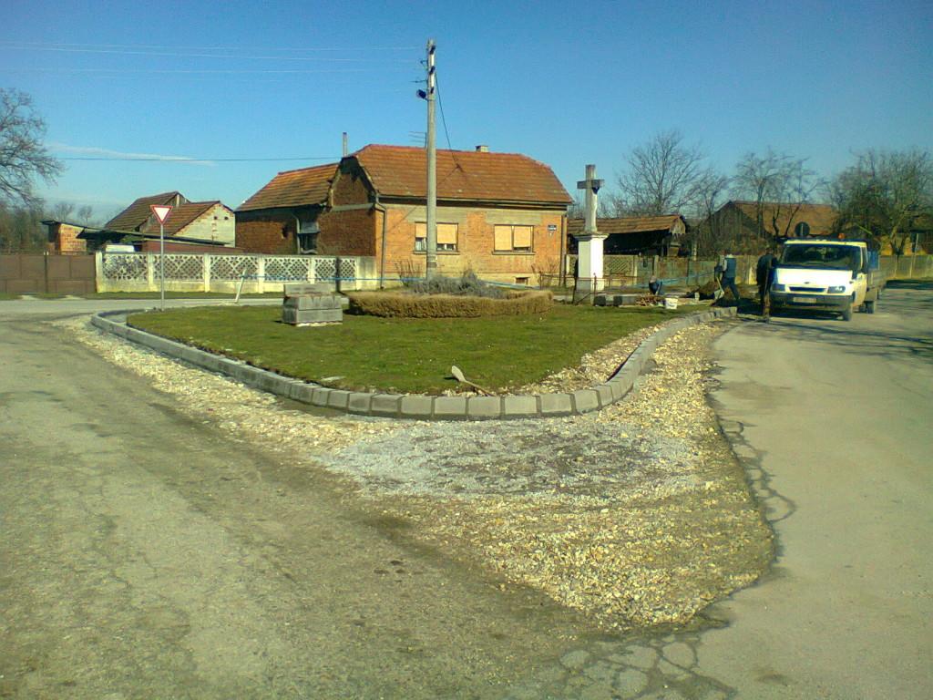 Uređenje rondela u Kunovcu i u Botinovcu