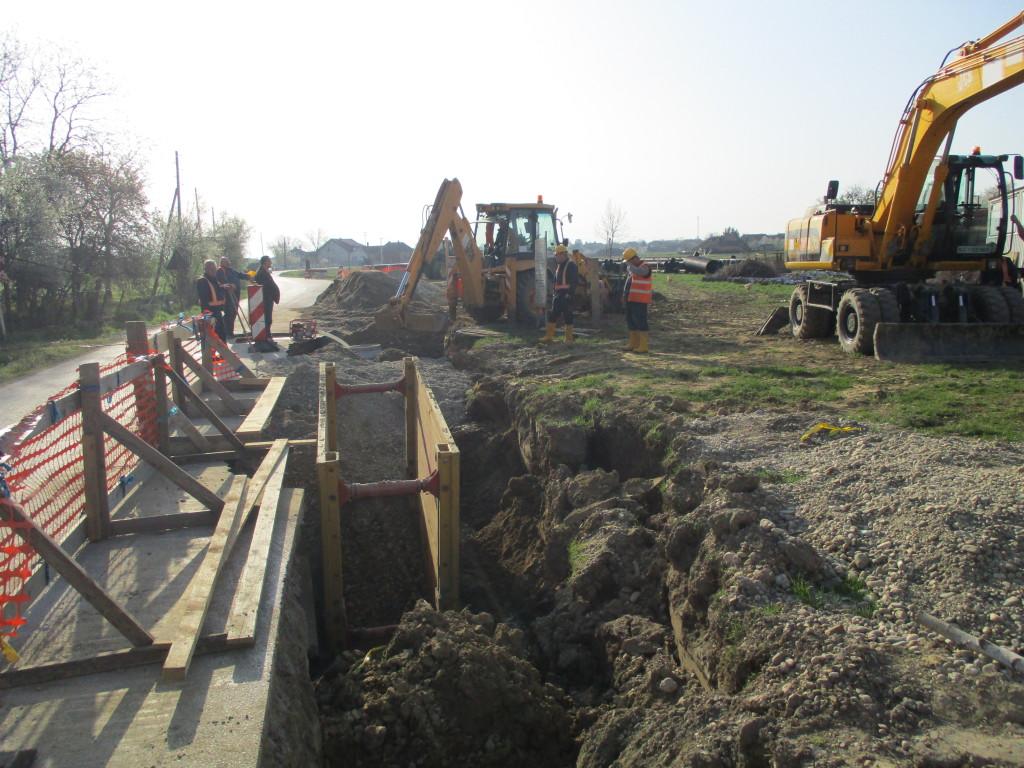 Izgradnja kanalizacije u naseljima Kunovec, Goričko i Botinovec