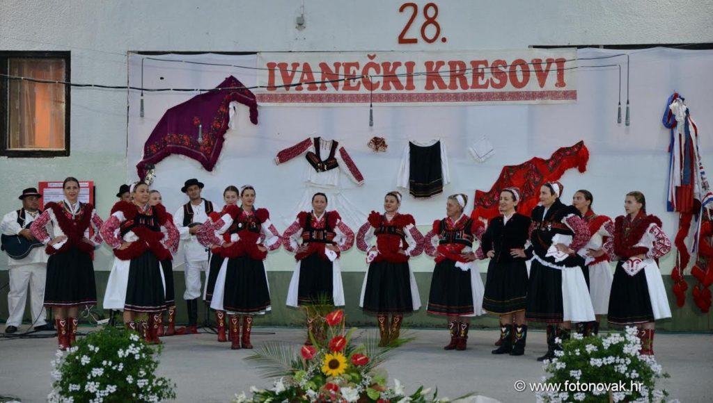 Održani 28. Ivanečki kresovi  i obilježena 40. godišnjica nastanka Kresova