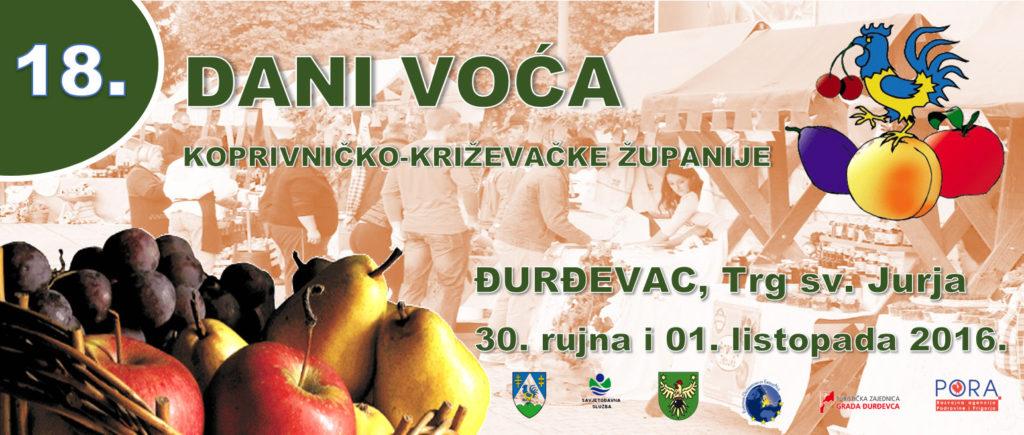 18. Dani voća Koprivničko – križevačke županije