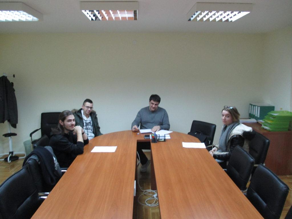 Potpisivanje ugovora za dodjelu studentskih kredita