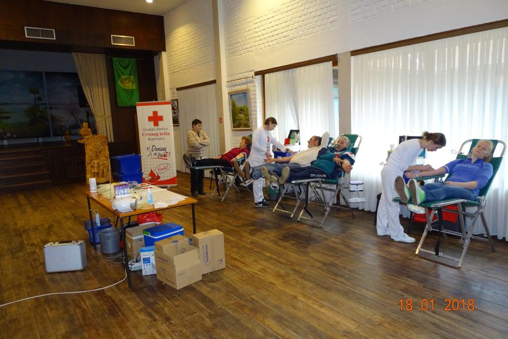 Akcije dobrovoljnog darivanja krvi