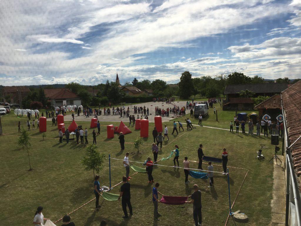 Obiteljski dan na prostoru Osnovne škole Koprivnički Ivanec u Kunovcu