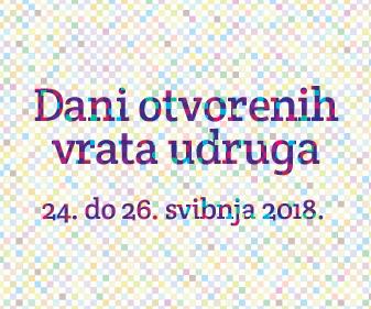 Dani otvorenih vrata udruga 2018.