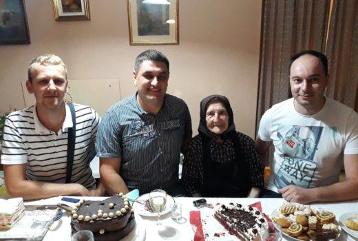 Proslavljen je 100-ti rođendan najstarije mještanke Općine Koprivnički Ivanec, gđe. Marice Čevis