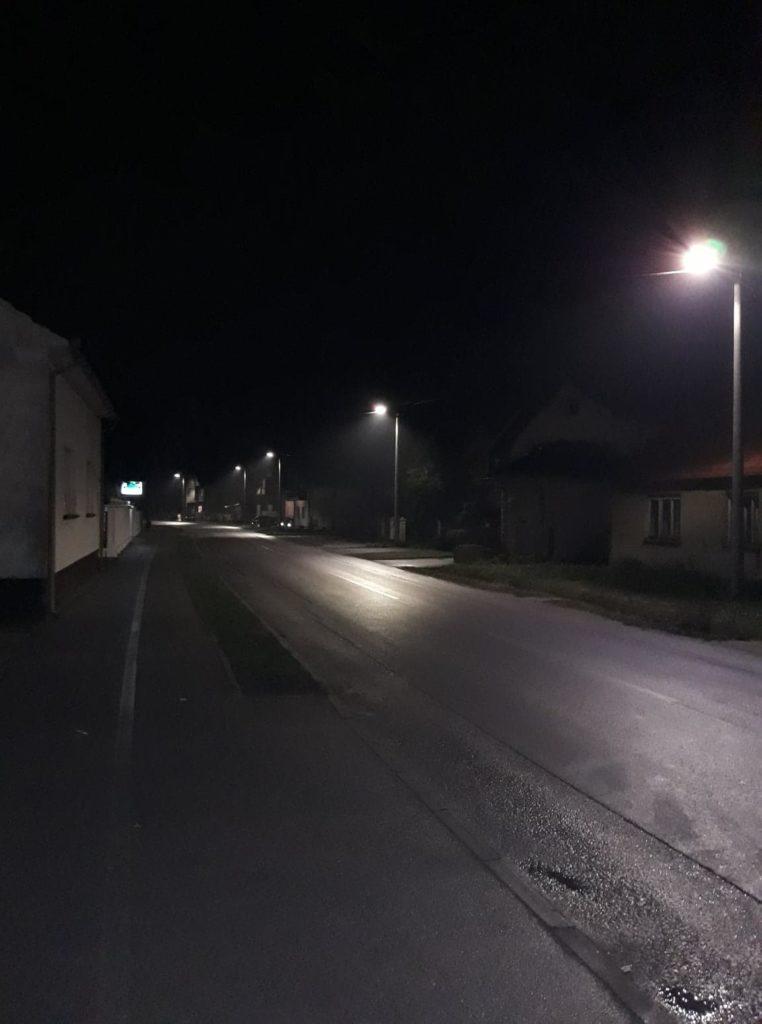 Postavljena LED rasvjetna tijela u Koprivničkoj ulici u Koprivničkom Ivancu