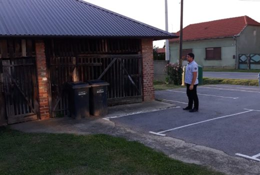 Zamijenjeno je krovište na objektu pored zgrade Osnovne škole u naselju Kunovec