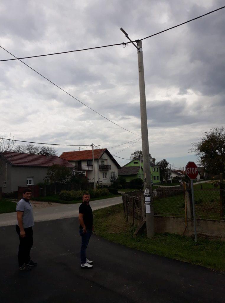 Na području cijelog naselja Goričko postavljena LED rasvjeta