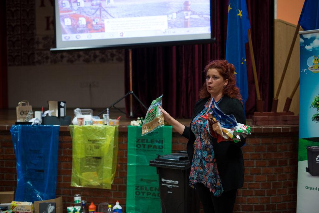 "Izobrazno – informativne aktivnosti o održivom gospodarenju otpadom – Projekt ""Otpad pametno odvoji, dobre navike usvoji!"""