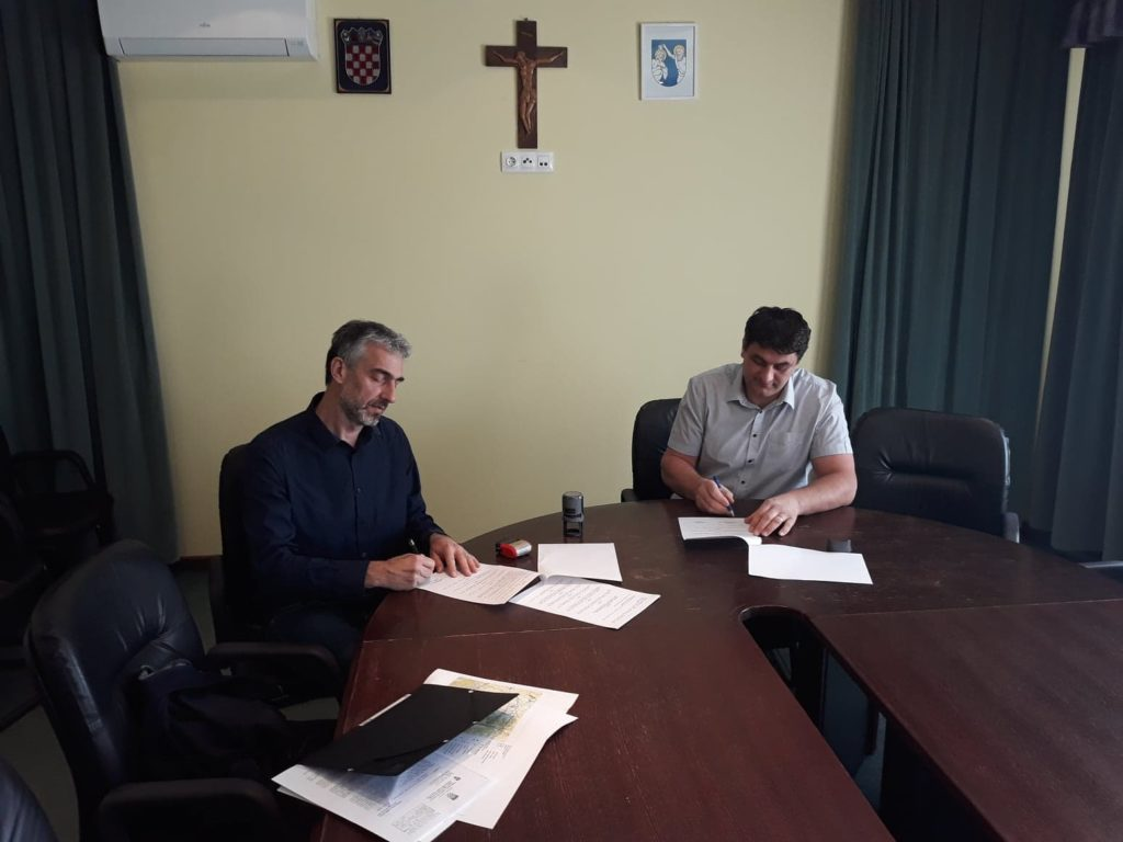 Potpisivanje Ugovora za izradu IV. izmjena i dopuna Prostornog plana uređenja Općine Koprivnički Ivanec, te izradu pročišćenog teksta istoga