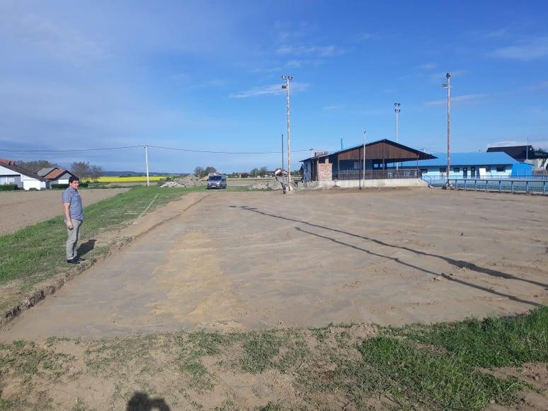 Započeli radovi na uređenju pomoćnog malonogometnog igrališta u Kunovcu