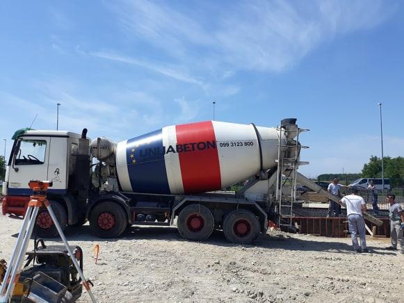 """Poduzeće """"Unija beton"""" započelo sa radovima u Poslovnoj zoni Koprivnički Ivanec"""