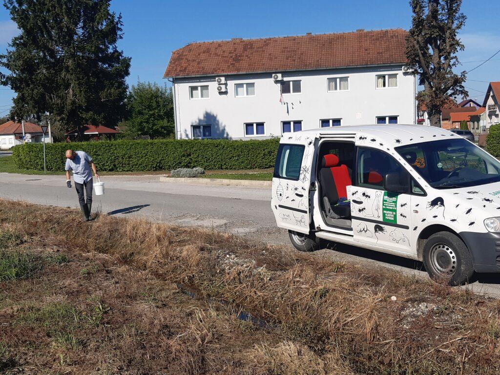 Provođenje drugog tretmana larvicidnih mjera dezinsekcije komaraca na području Općine Koprivnički Ivanec u 2020. godini