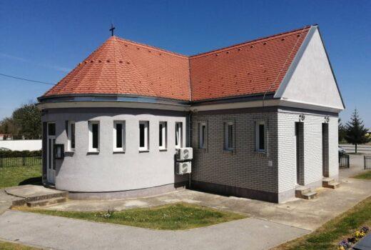 Radovi na zamjeni stolarije na objektu mrtvačnice u Koprivničkom Ivancu