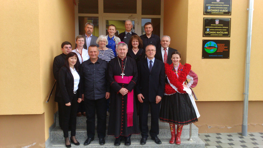 Općinu Koprivnički Ivanec posjetio Varaždinski biskup Josip Mrzljak